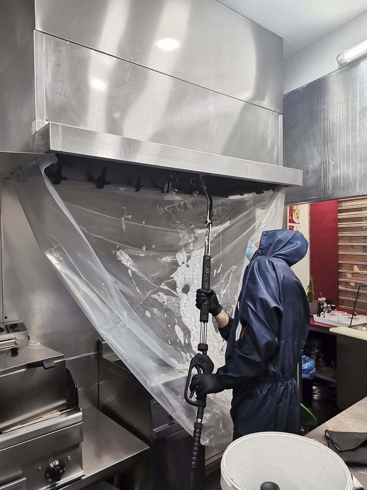 Limpeza de chaminé Pasta Grill