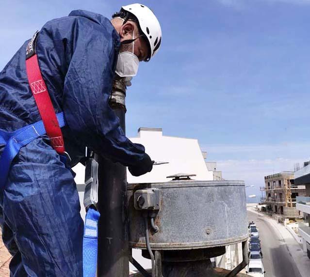 Limpeza e manutenção hotte, condutas e motores de extração